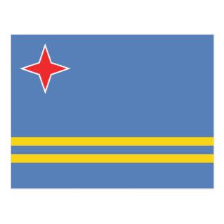 Aruba – Aruban Flag Post Card
