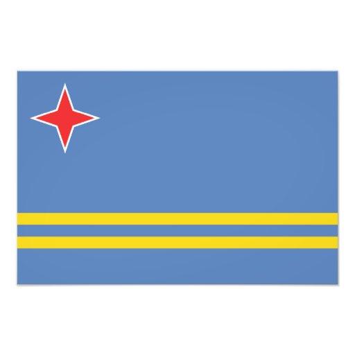 Aruba - bandera de Aruban Arte Con Fotos