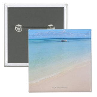 Aruba, beach and sea 2 pinback button