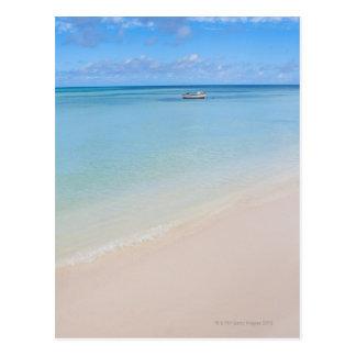 Aruba, beach and sea 2 postcard