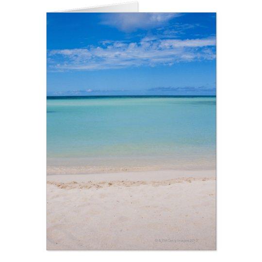 Aruba, beach and sea 3 card