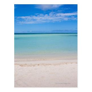 Aruba, beach and sea 3 postcard