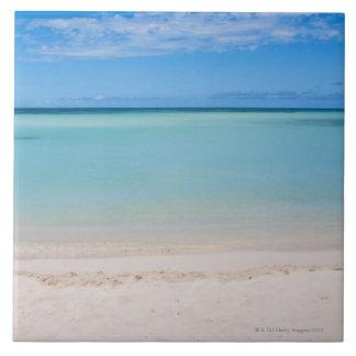 Aruba, beach and sea 3 ceramic tiles