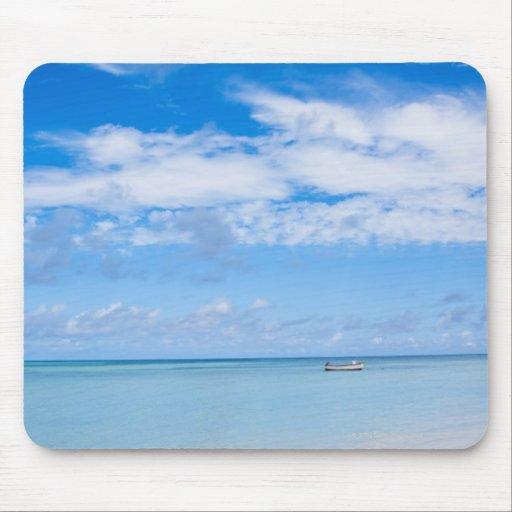 Aruba, beach and sea mouse pad