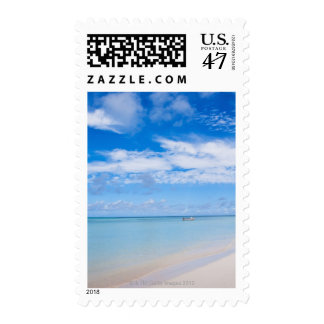 Aruba, beach and sea postage