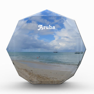 Aruba Beach Acrylic Award