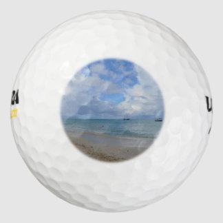 Aruba Beach Pack Of Golf Balls