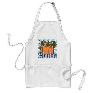 Aruba Beaches Sunset Adult Apron