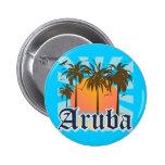 Aruba Beaches Sunset Buttons