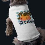 """Aruba Beaches Sunset Shirt<br><div class=""""desc"""">Aruba beach tropical vacation souvenir t-shirts and gifts.</div>"""