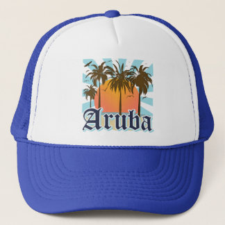 Aruba Beaches Sunset Trucker Hat