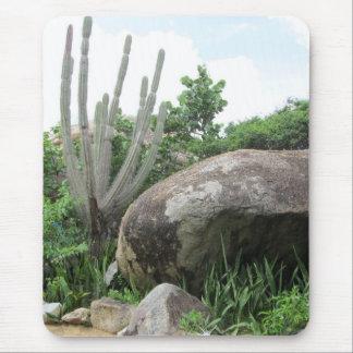 Aruba Cactus and Bolder Mouse Pad