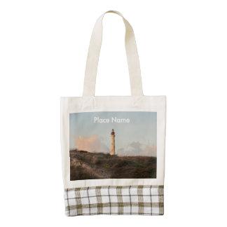 Aruba California Lighthouse Zazzle HEART Tote Bag