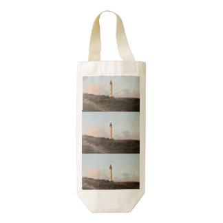 Aruba California Lighthouse Zazzle HEART Wine Bag