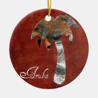 Aruba Ceramic Ornament