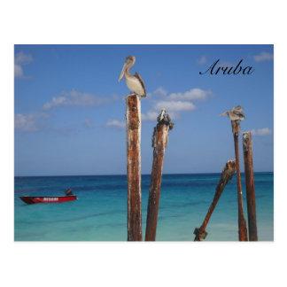 Aruba, cielos azules en postal del paraíso