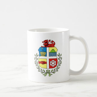 Aruba Coat of arm AW Classic White Coffee Mug