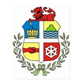Aruba Coat of arm AW Post Card