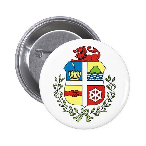 Aruba Coat of Arms Button