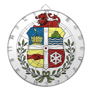 Aruba Coat of Arms Dart Boards