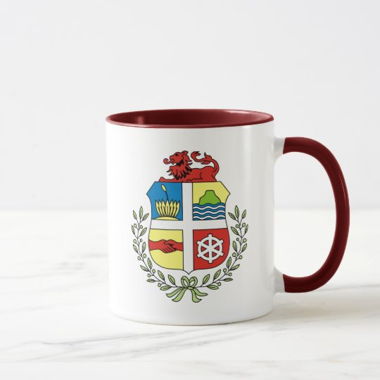 aruba coat of arms mug