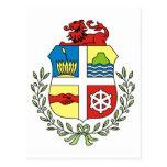 Aruba Coat of Arms Postcard