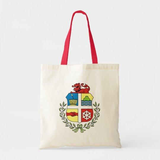 aruba coat of arms tote bag