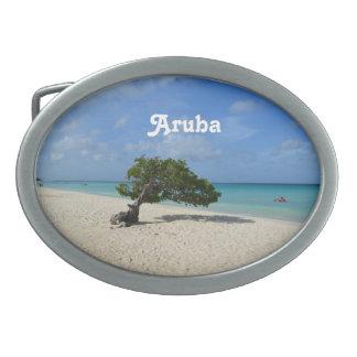 Aruba Divi Divi Tree Belt Buckle