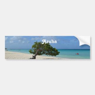 Aruba Divi Divi Tree Car Bumper Sticker