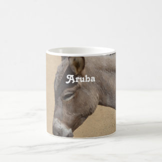 Aruba Donkey Classic White Coffee Mug