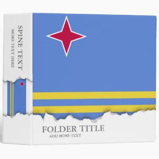Aruba flag binder