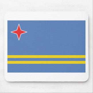 Aruba Flag Mouse Pad
