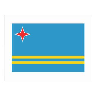 Aruba Flag Post Cards