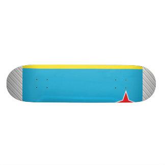 Aruba Flag Skateboard Deck