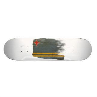 Aruba Flag Skate Board Deck