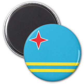 Aruba High quality Flag Fridge Magnets