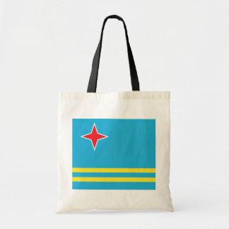 Aruba High quality Flag Tote Bag