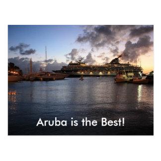 Aruba is the Best! Post Card