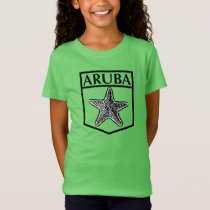 Aruba Island Design - Girls' Fine Jersey T-Shirt