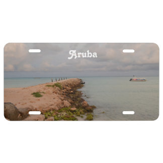 Aruba Jetty License Plate