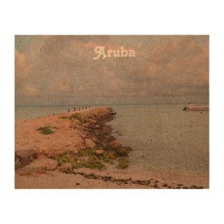 Aruba Jetty Queork Photo Print