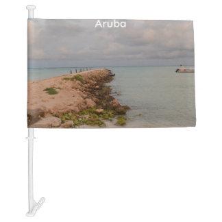 Aruba Jetty Car Flag
