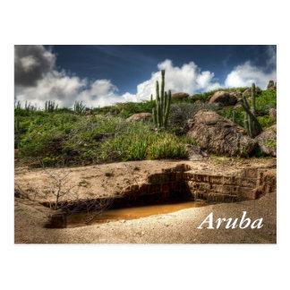 Aruba, la precipitación de oro ha terminado postal