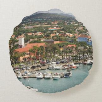 Aruba Marina Round Pillow