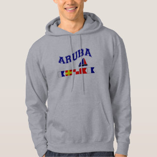 Aruba (Maritime Flag Spelling) Hoodie