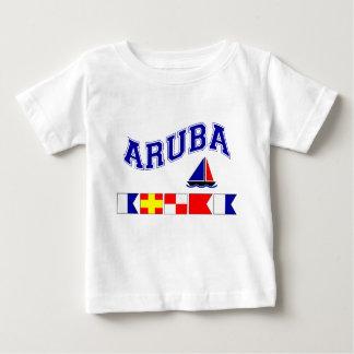 Aruba (Maritime Flag Spelling) Infant T-shirt