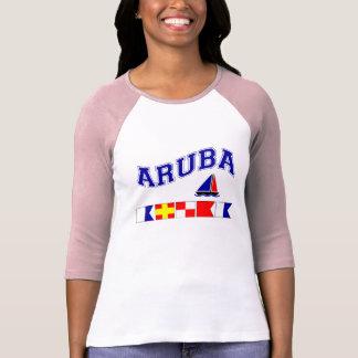 Aruba (Maritime Flag Spelling) T Shirt