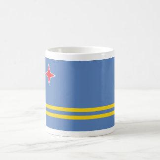 aruba classic white coffee mug