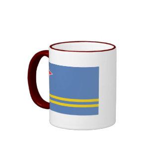 aruba ringer coffee mug