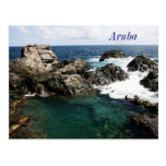 Aruba, Natural Pool Postcard at Zazzle